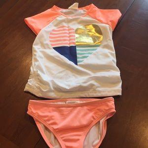 Other - Girls 2piece Swim suit